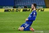 Liga Inggris - Leicester naik ke posisi ketiga klasemen setelah atasi Brighton 3-0