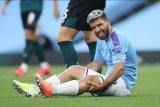 Sergio Aguero akui belum tahu masa depannya di Man City