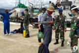Pelaku pencurian ikan asal Vietnam dibawa ke Lanal Natuna