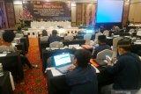 Situs KPU: rekapitulasi enam daerah di Sulsel rampung