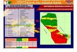 Zona merah COVID-19 di Palangka Raya tersebar di 14 Kelurahan