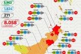 Empat daerah di Sulawesi Utara berstatus risiko tinggi penularan COVID-19