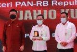 Menteri Tjahjo Kumolo apresiasi peresmian MPP Pati di tengah pandemi
