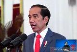 Presiden Jokowi umumkan enam menteri baru Kabinet Indonesia Maju