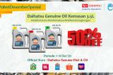 Daihatus menghadirkan kemasan baru DGO 3,5 liter
