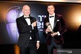 Klopp pelatih terbaik, Lewandowski dinobatkan pemain terbaik FIFA 2020