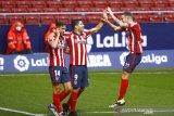 Dua gol Suarez bawa Atletico kembali ke jalur kemenangan