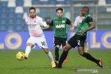 Cetak rekor gol tercepat, Milan  taklukkan Sassuolo