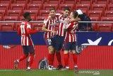 Atletico unggul tiga poin di puncak Liga Spanyol