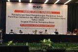 KPU resmi tetapkan Mahyeldi-Audy raih suara terbanyak di Pilgub Sumbar