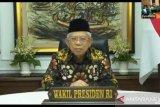 Wapres Ma'ruf Amin  tutup Muktamar IX PPP