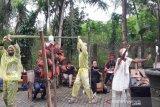 22 seniman mengikuti pameran lukisan di Borobudur