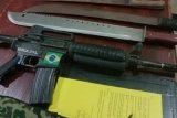 Polisi amankan senjata air soft gun laras panjang di Merauke