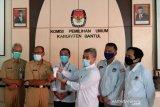 KPU Bantul menghibahkan ribuan thermo gun ke Pemkab