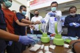Pemusnahan Barang Bukti Narkotika BNN Mataram