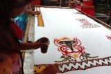 Batik motif konservasi produksi UMKM Lampung Timur dipasarkan ke luar daerah