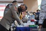 Pemusnahan barang bukti narkoba Polda Sumsel