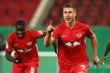 RB Leipzig menangi duel dua tim strata tertinggi pada Piala Jerman