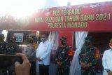 Gubernur Sulut dan Kapolda pantau pos terpadu pengamanan Natal-Tahun Baru