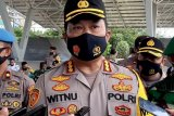 Polisi bubarkan peringatan HUT produk kecantikan karena timbulkan kerumunan