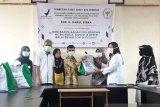 Tutup program 2020, Darul Siska salurkan 1000 paket sembako di Solok
