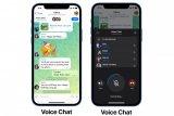 Telegram tambah fitur  obrolan suara grup