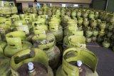 Harga gas bersubsidi 3kg di Palangka Raya mencapai Rp38.000 per tabung