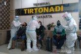 Pemudik di Terminal Tirtonadi jalani tes cepat antigen
