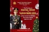 Kapolri ucapkan selamat Natal 2020 kepada umat Kristiani di Indonesia