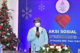 Kominfo awali perayaan Natal dengan aksi sosial