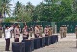Kapolda Lantik Pejabat Utama Polda di Pos Komandan Taktis Poso