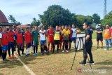 Tim sepak bola PON NTT seleksi pemain muda