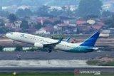 Garuda Indonesia memantau perkembangan negara tujuan penerbangan
