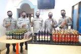 Polisi gagalkan penyelundupan 189 botol miras ke Mamberamo Raya