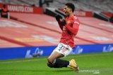 Gol larut Marcus menangkan MU atas Wolverhampton