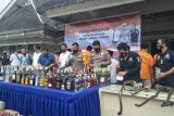 Ratusan penjahat di kerangkeng Polres Lombok Tengah sepanjang 2020