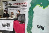 Walhi Susel: Dampak materil akibat kerusakan lingkungan capai Rp8,24 triliun