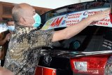 100 kendaraan dinas di Pemkab Jepara ditempeli stiker sosialisasi prokes