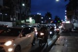 Kendaraan mulai padati Jalan Raden Intan Bandarlampung