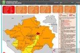 Kota Palembang tutup tahun 2020 dengan zona merah COVID-19