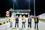 BPJT Kementerian PUPR cek kesiapan jalan tol sambut arus balik Natal 2020 dan Tahun Baru 2021