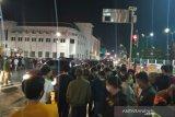 Pergantian tahun di Nol Kilometer Kota Yogyakarta tanpa pesta kembang api