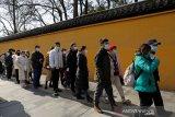 China: tim WHO penyelidik inveksi awal COVID-19 akan tiba 14 Januari 2021