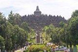 Tahun 2020, pengunjung Candi Borobudur turun drastis akibat COVID-19
