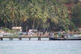 Libur awal tahun, objek wisata bahari di Lampung ramai pengunjung
