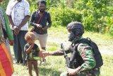 Kontak senjata pecah di Kabupaten Intan Jaya Papua, seorang prajurit TNI gugur