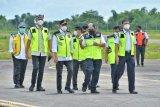Target beroperasi 2021, Menhub tinjau pembangunan Bandara Ngloram Cepu