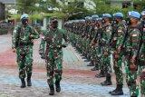 TNI berangkatkan 488 personil Satgas BGC Konga XXXIX-C Monusco Kongo