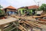 Dampak Angin Puting Beliung di Cirebon