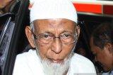 Jelang bebas, kondisi kesehatan Abu Bakar Baasyir sempat turun